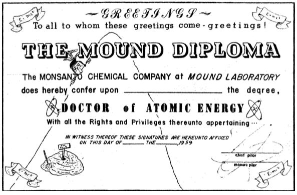 The Mound Diploma